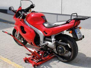 cartrend Motorradhebebühne Tragefähigkeit bis 680 kg