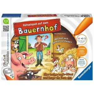 Ravensburger - tiptoi Spiel: Rätselspaß auf dem Bauernhof