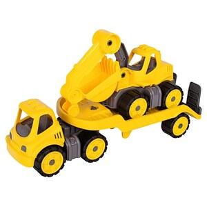 BIG - Power Worker: Mini Transporter und Bagger
