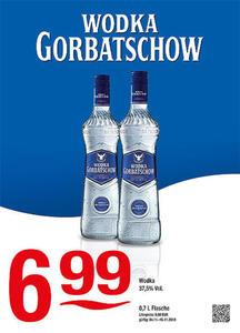 Wodka Gorbatschow Wodka 37,5% Vol.