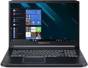 "Predator Helios 300 (PH317-53-73MY) Xklusiv 43,94 cm (17,3"") Gaming Notebook schwarz/blau"