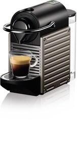 XN304T Nespresso Pixie Kapsel-Automat titan