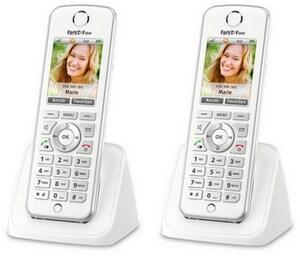 FRITZ!Fon C4 (2 Stk.) Schnurloses IP-Telefon