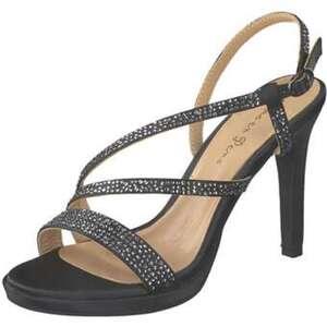 Alma en Pena Sandale Damen schwarz