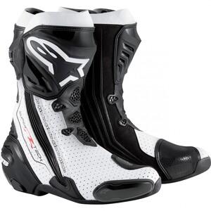Alpinestars            Supertech R Stiefel schwarz/weiß perforiert