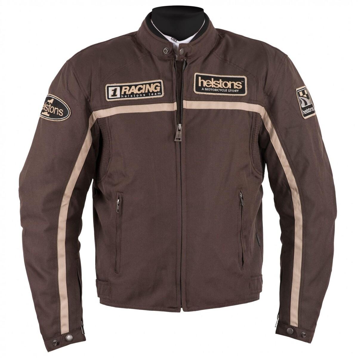 Bild 1 von Helstons Daytona Textiljacke braun Herren Größe L
