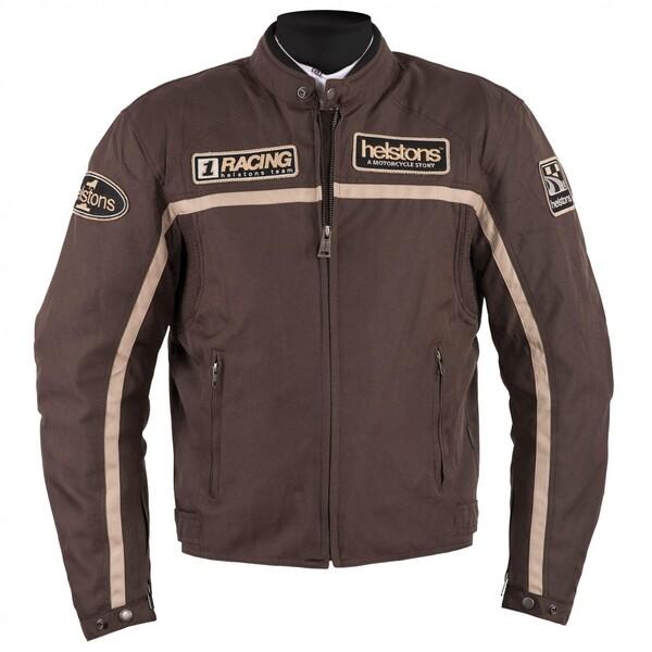 Helstons Daytona Textiljacke braun Herren Größe L
