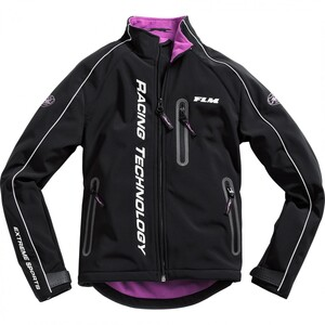 FLM Sports Motorsport Damen Softshelljacke 1.0 pink Damen Größe L