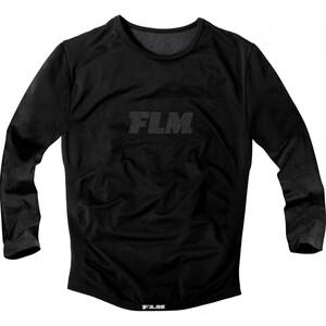 FLM Sports Funktionsshirt, Langarm 1.0 schwarz Herren Größe XXL