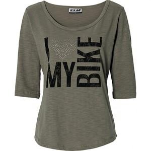 FLM Sports Damen T-Shirt 4.0 oliv Damen Größe XL