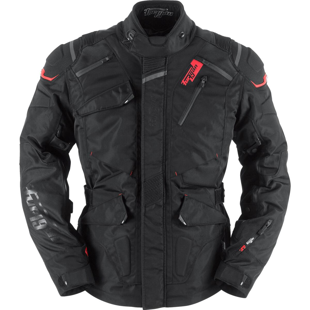 Bild 2 von Furygan Vulcain 3in1 Textiljacke schwarz Herren Größe L