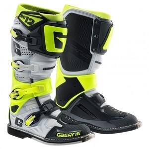 Gaerne Sg12 Uni Cross Stiefel Motorradstiefel grau Unisex Größe 48