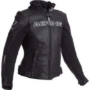 Bering Switch Damen Leder/Textil Motorradjacke weiß Größe 36
