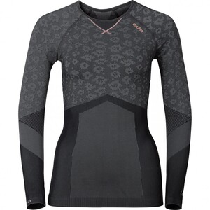 Odlo Damen Funktionsshirt Blackcomb Evolution Warm grau Damen Größe L