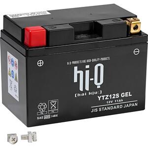 Hi-Q Batterie AGM Gel geschlossen YTZ12S, 12V, 11Ah