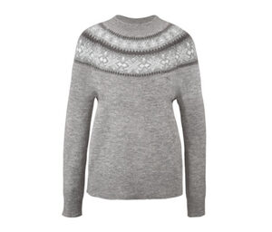 Norweger-Strickpullover