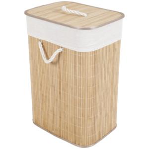 Wäschekorb aus Bambus