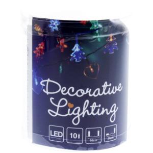 Lichterkette Weihnachtsfigur LED