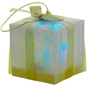 Lampe als Geschenk mit Schleife