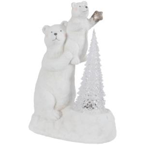 Eisbär mit Licht