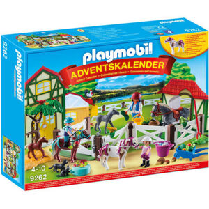 PLAYMOBIL® Adventskalender Reiterhof 9262