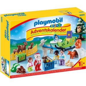 PLAYMOBIL® Adventskalender 1.2.3 Waldweihnacht der Tiere 9391