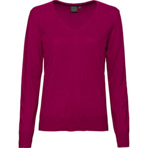 Adagio Damen Seide-Cashmere Pullover, pink, 40, 40
