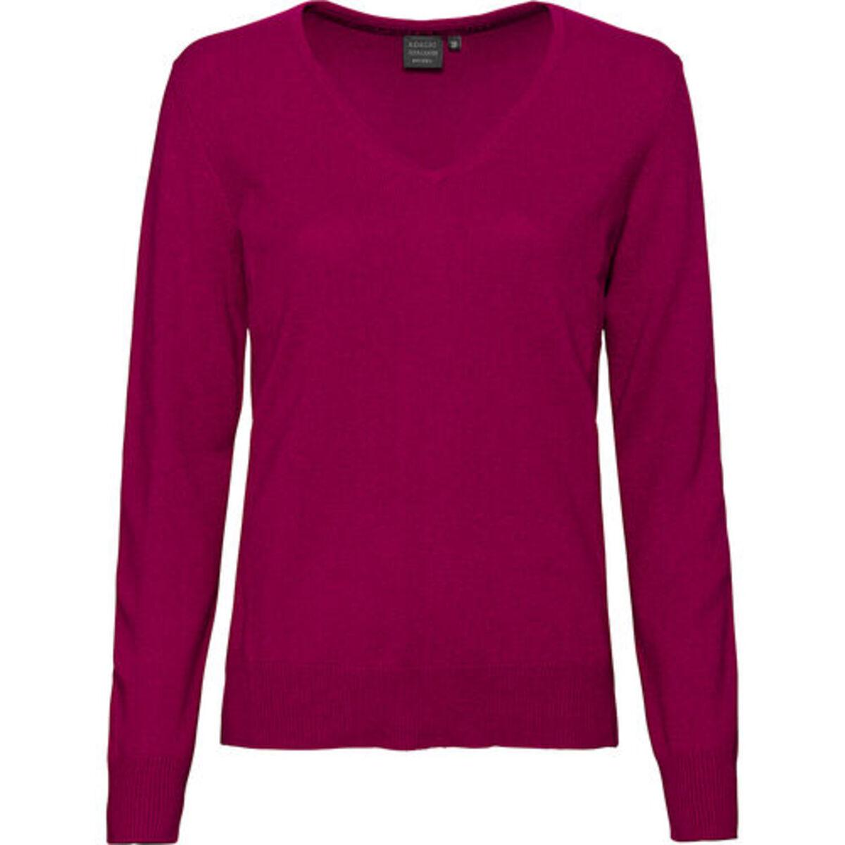 Bild 2 von Adagio Damen Seide-Cashmere Pullover, pink, 40, 40