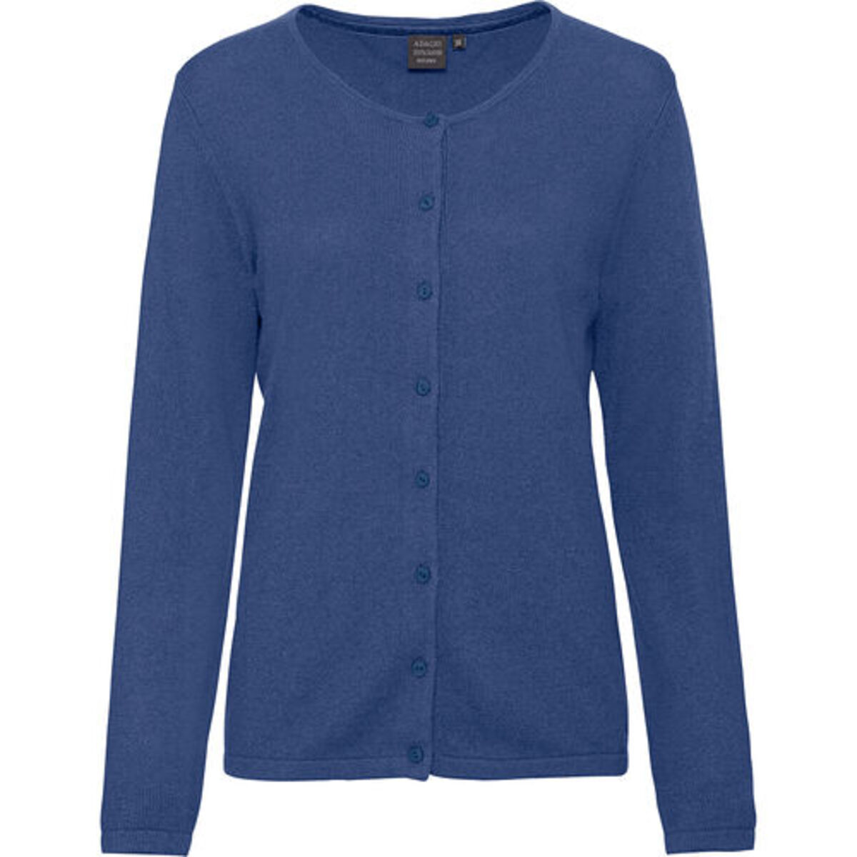 Bild 2 von Adagio Damen Seide-Cashmere Cardigan, jeansblau, 46, 46