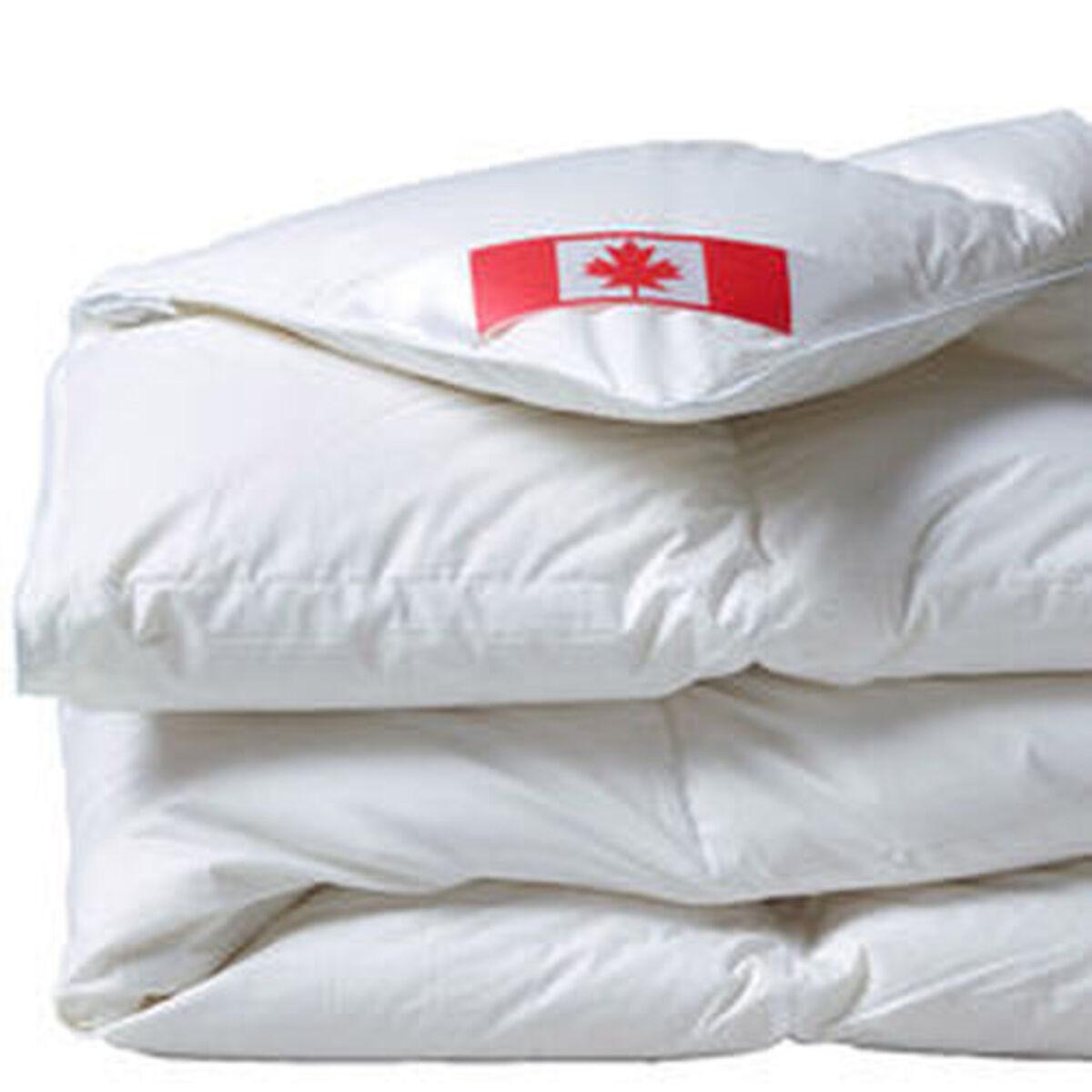 Bild 2 von Künsemüller Kassettenbett Canada Warm, 916g, 4x6 Karos, 90% Daunen und 10% Federn, 135x200 cm