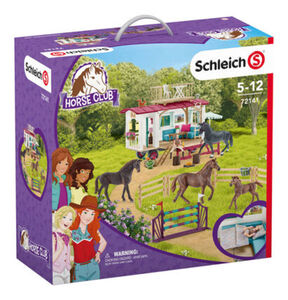 Schleich Horse Club - Geheimes Turnier-Training am Caravan