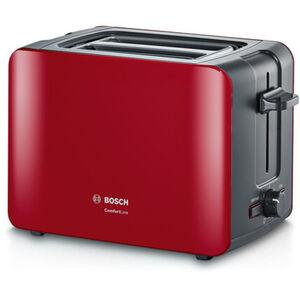 Bosch Toastautomat TAT6A114, rot/anthrazit, rot/anthrazit