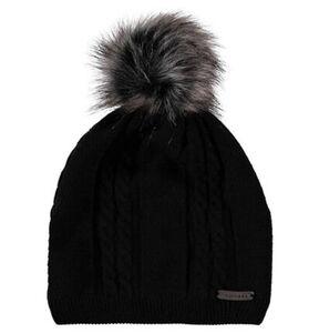 Moorhead Damen Pudelmütze, schwarz, OneSize, OneSize