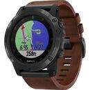"""Bild 2 von Garmin Herren Smartwatch fenix® 5X Plus Sapphire """"010-01989-03"""", braun"""