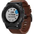 """Bild 4 von Garmin Herren Smartwatch fenix® 5X Plus Sapphire """"010-01989-03"""", braun"""