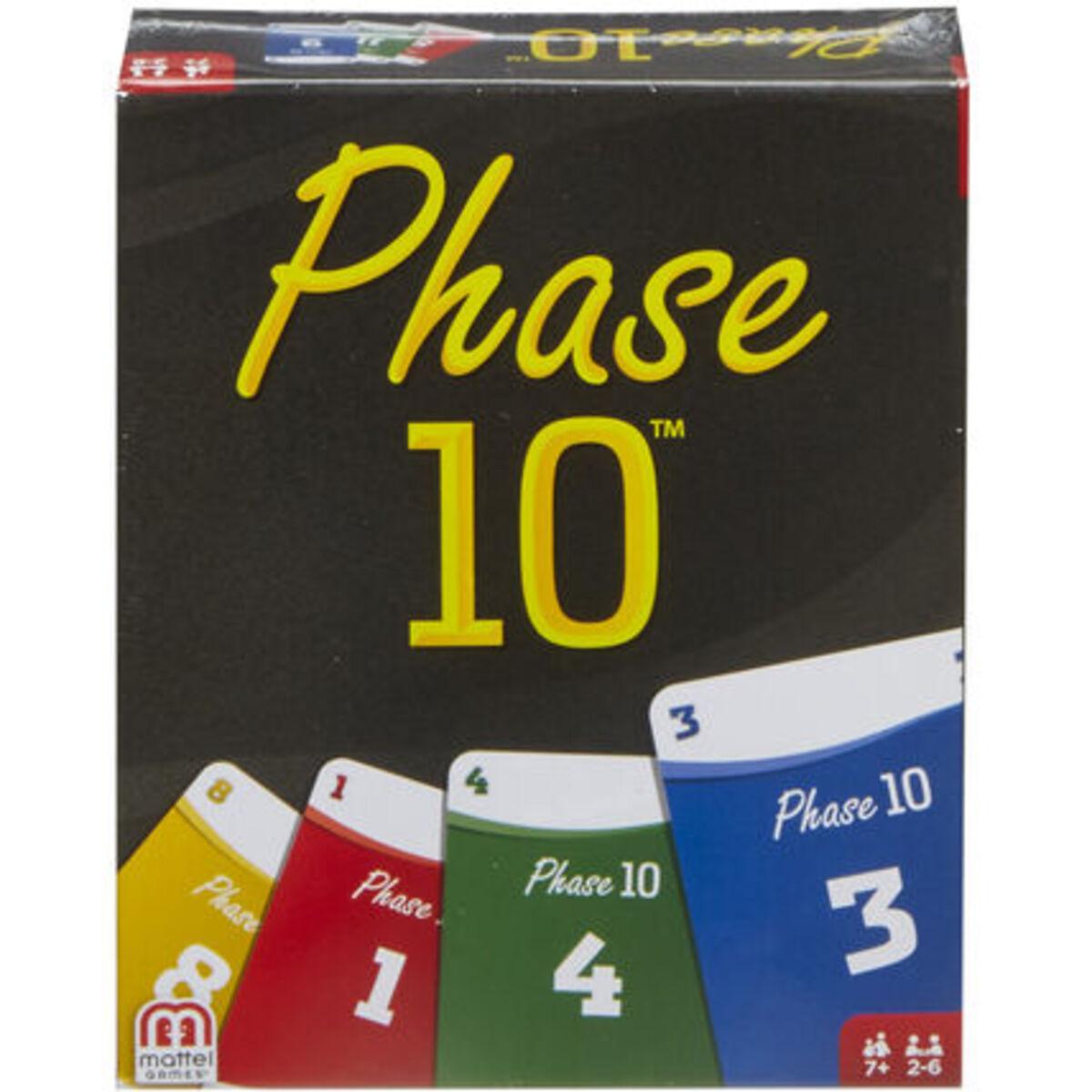 Bild 1 von Mattel Games Phase 10 Basis