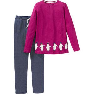 manguun Mädchen Schlafanzug