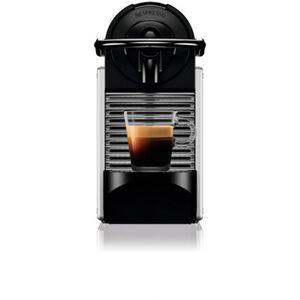 DeLonghi Nespresso-Automat EN124.S Pixie, silber