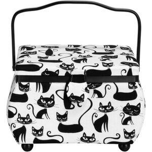 Prym Nähkorb Cats, mittelgroß