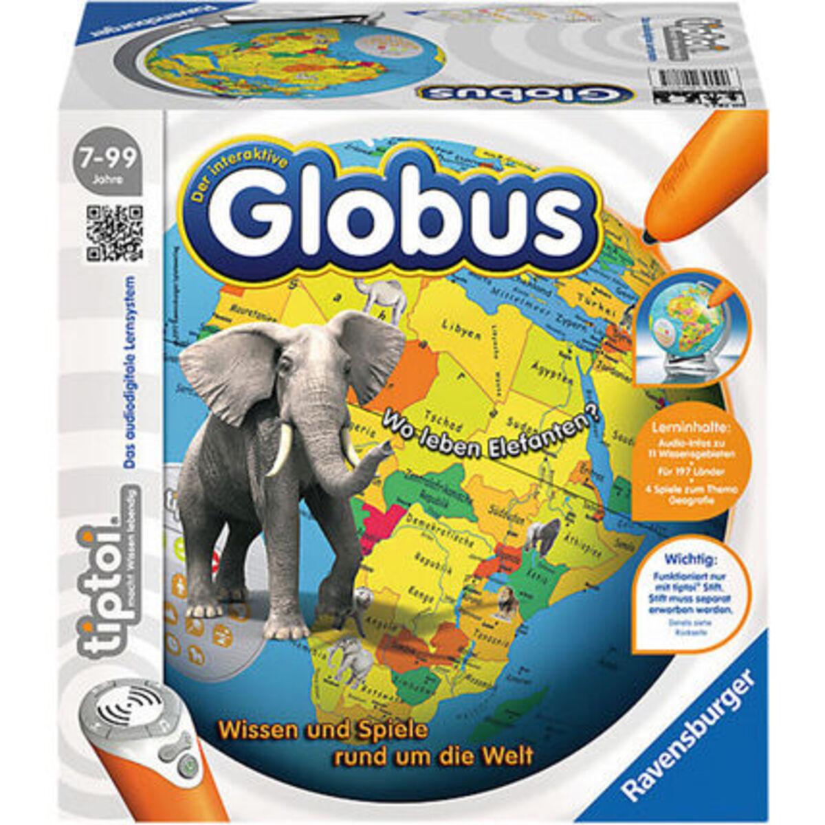 Bild 1 von Ravensburger tiptoi - Der interaktive Globus