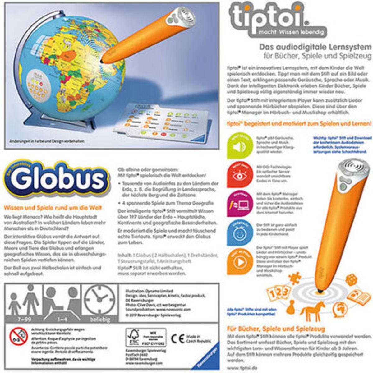Bild 2 von Ravensburger tiptoi - Der interaktive Globus