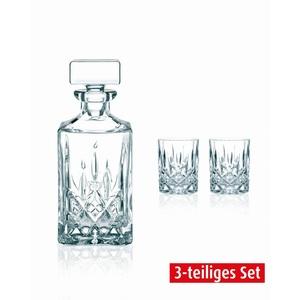 Nachtmann Whisky-Set NOBLESSE 3-teilig Kristallglas