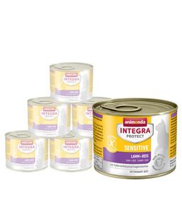 animonda Nassfutter Integra Protect Sensitive, 6 x 200g