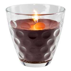 Kerze im Glas mit Kaffeeduft, ca. 9x8cm