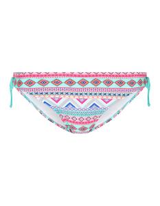 Damen Bikini Slip mit Allover-Muster