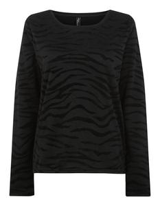 Damen Sweatshirt im Zebra-Look