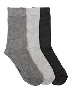 Damen Bambus Socken im 3er-Pack