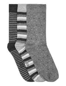Damen Bambus-Socken im 3er-Pack