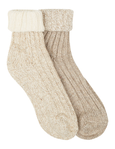 Damen Socken aus Wollmischung im 2er-Pack
