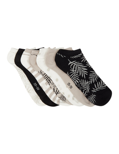 Damen Sneakersocken im 7er-Pack